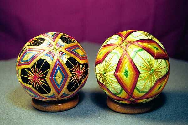 Японские шары темари мастер класс сделай сам #1
